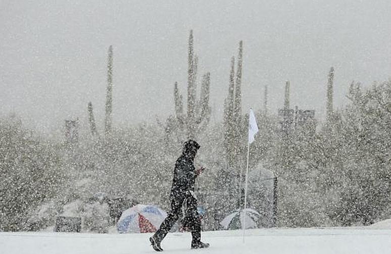Snow Golf Accenture Match Play