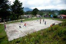 Chiapas village basketball